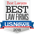 US News Best Lawyers Best Law Firm 2018